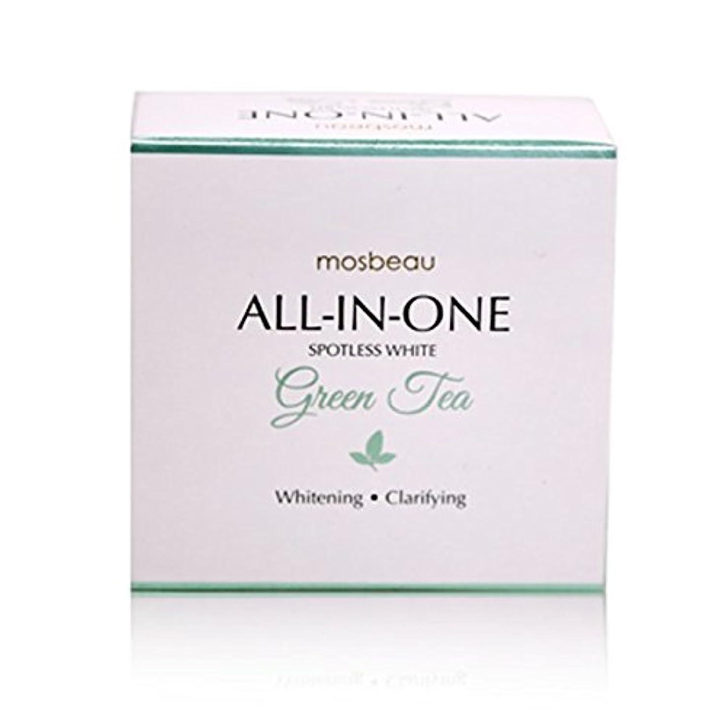 エコー同化範囲mosbeau Spotless White GREEN TEA Facial Soap 100g モスビュー スポットレス ホワイト グリーンティー フェイシャル ソープ