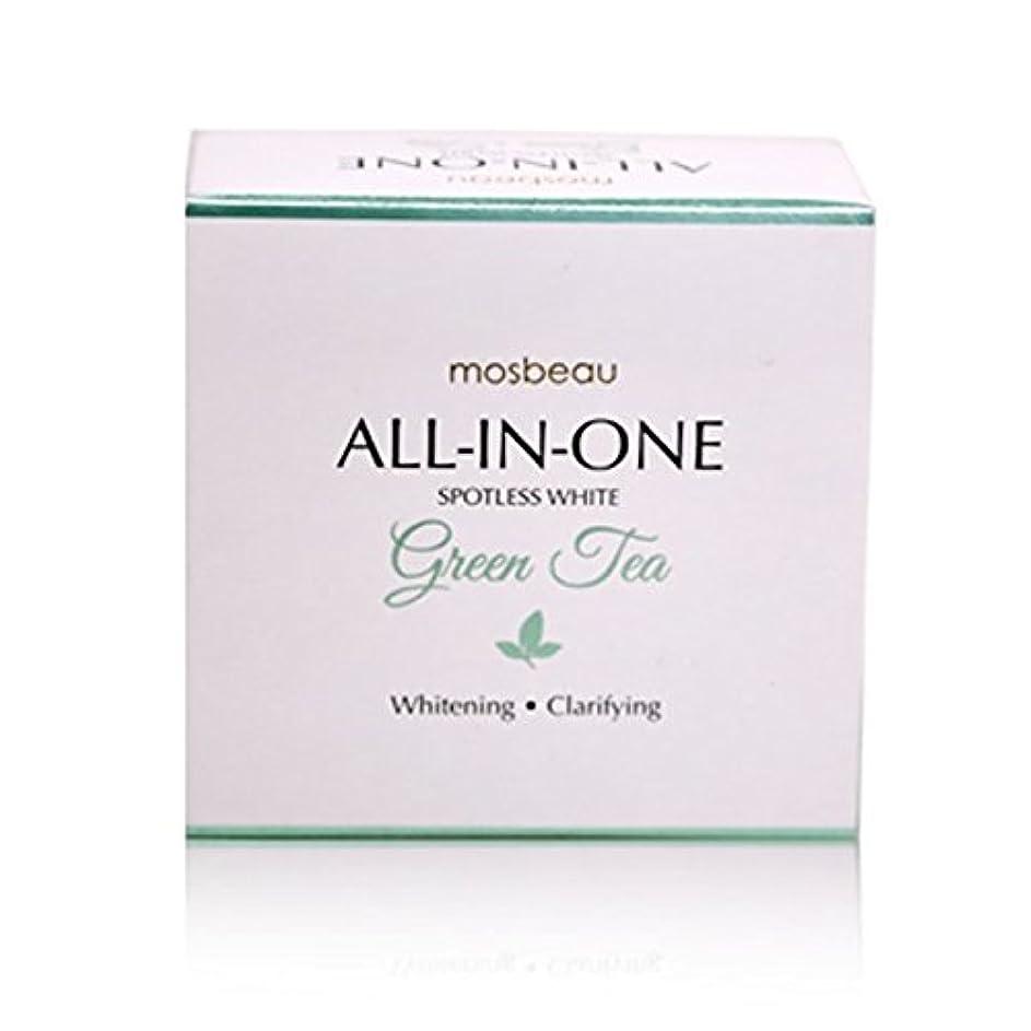 慎重に枯れる束mosbeau Spotless White GREEN TEA Facial Soap 100g モスビュー スポットレス ホワイト グリーンティー フェイシャル ソープ