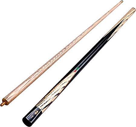 KBA Snooker Pool Half Joint Black Bridge Cue Stick in 9 mm Tip Size