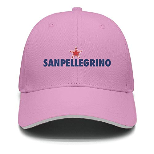 Kecooi Adjustable Unisex S.Pellegrino-Water- Cap Twill Strapback Hat
