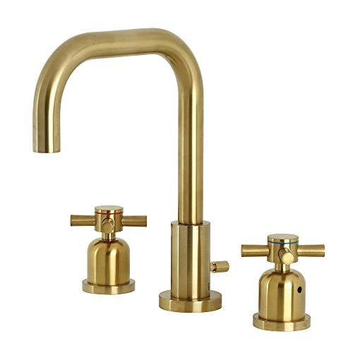 Kingston Brass FSC8933DX Concord - Grifo de baño con tapón de latón, cepillado
