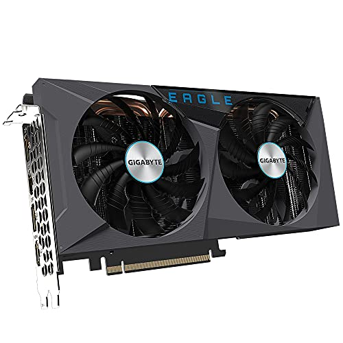 Gigabyte - Scheda grafica GeForce RTX 3060 Ti Eagle OC 8GB V2 LHR