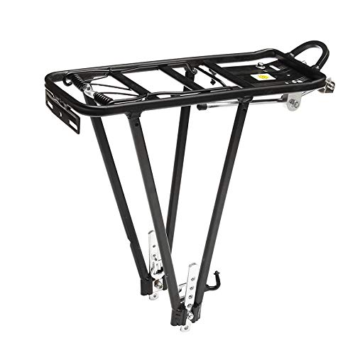 Gesh Fahrradträger aus Aluminiumlegierung, 50 kg, für Scheibenbremse, Gepäckträger für Fahrräder