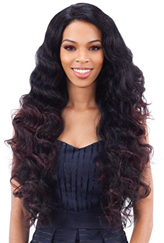 LETTY (2 Dark Brown) - FreeTress Equal Synthetic Invisible L Part Full Wig