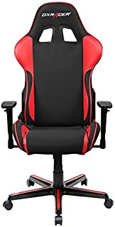 DXRacer OH/FH11/NR Formula Series Black and Red Gaming Chair - Includes 2 Free Cushions and on Frame