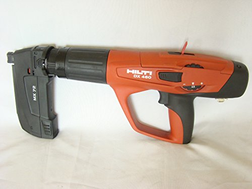 Hilti DX 460-MX Fully Automatic Powder-Actuated Fastening Tool - 370448 by HILTI