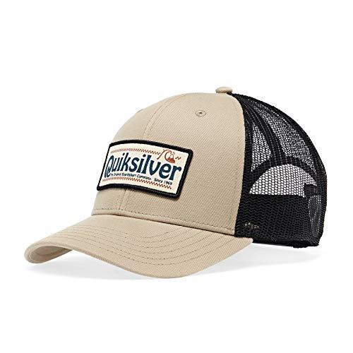 Quiksilver - Gorra Trucker - Hombre - One Size - Marrón