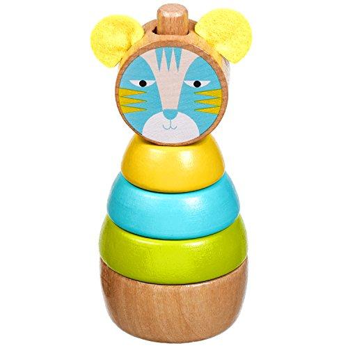 Lucy&Leo Cat Sortier, Stapel & Steckspielzeug Lernspielzeug aus Holz Lernspielzeug aus Holz für Kleinkinder für Baby Boy und Baby Girl