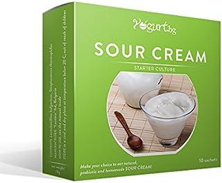 comprar comparacion Cultura para preparar la crema agria / producto lácteo/ en casa - 10 bolsitas