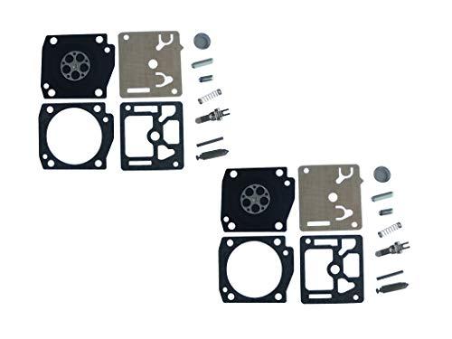 Kit de reparación y reconstrucción de carburador reemplaza ZAMA RB-95 para EFCO/EMAK 947 952 Husqvarna H355 55CC EPA motosierra ZAMA C3-E8 C3-E9 C3-EL15 C3-EL16 (paquete de 2)