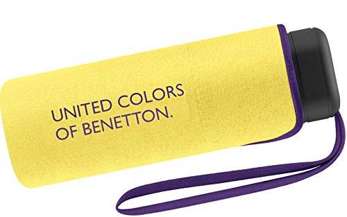Benetton Taschenschirm Ultra Mini Flat Solid - Lemon Verbena
