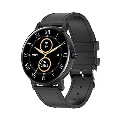 zyz L01 Bluetooth Call Smart Watch Men 390 * 390 Pantalla Táctil Completa, Monitor De Ritmo Cardíaco, Empuje De Información, Reloj De Recordatorio Inteligente,E