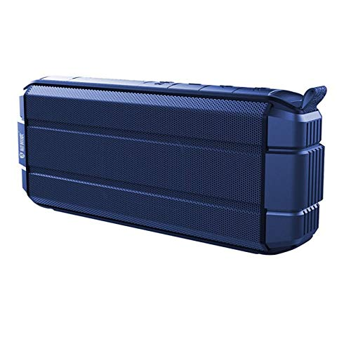 Peanutaoc Y10 Altavoz inalámbrico impermeable portátil recargable reproductor de música mini subwoofer al aire libre soporte AUX-IN