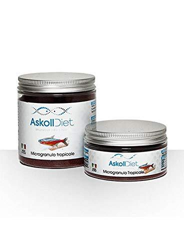 Askoll 280500 Diet Mangime per Pesci Microgranulo Tropicale, M