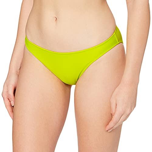 Calvin Klein Classic Bragas de Bikini, Sulphur Spring, Medium para Mujer