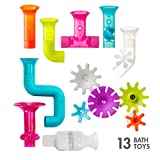 Boon Building Bath Toy Bundle with Pipes, Cogs and Tubes, Pack of 13
