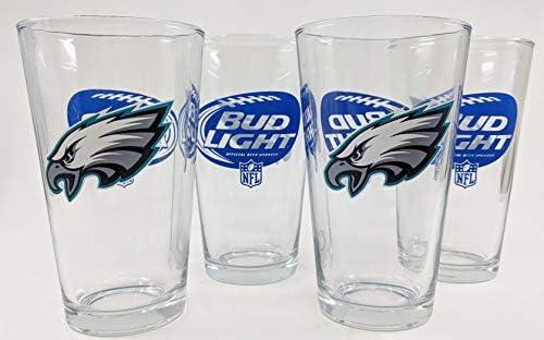 Bud Light Philadelphia Eagles Pint Glass Set product image