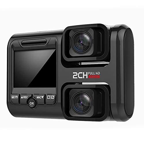 ACHICOO - Grabador de datos para coche HD Night Vision panorámica de 360 grados con doble lente inalámbrica vigilancia de estacionamiento 24h / 24 horas