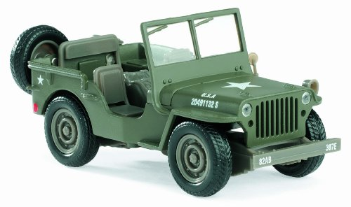 New Ray - 61053 - Véhicule Miniature - Voiture - Jeep Willis