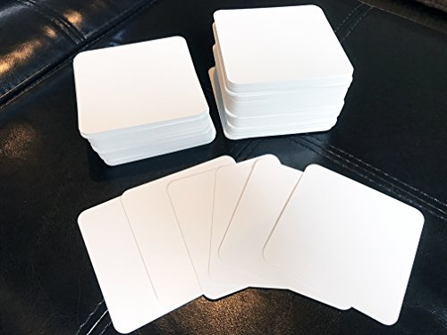Blank Square Playing Cards (2.75