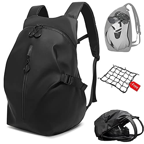Motorcycle Backpack,Motorcycle Backpacks for Men,Motorcycle Backpack Waterproof,Helmet Backpack -...