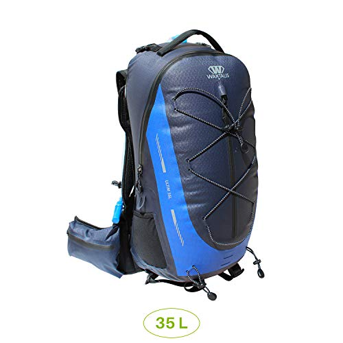 Wantalis Ultim 35 Unisex Adult Waterproof Backpack, Blue, One Size (Manufacturer's Size: 58 x 29 x 20 cm)