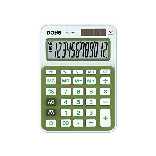 Delege rekenmachine, klein, groen