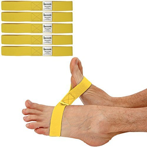 MSD 5unidades gomas tobillos amarillo (ligero) ankleciser correa elástica Rehabilitación Tobillo