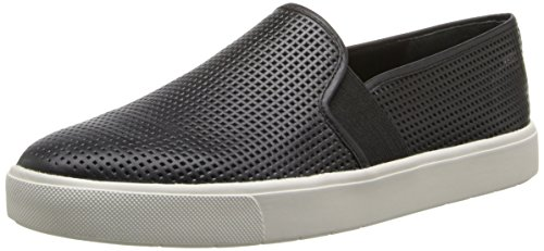 Vince Women's Blair Slip On Sneaker, Black, 8 Medium US