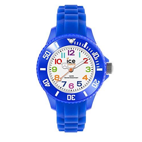 Ice-Watch - ICE mini Blue - Blaue Jungenuhr mit Silikonarmband - 000745 (Extra small)
