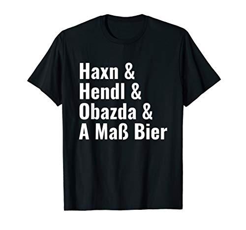 Lustige bayrische Dialekt-Begriffe | Bierfest & Biergarten T-Shirt