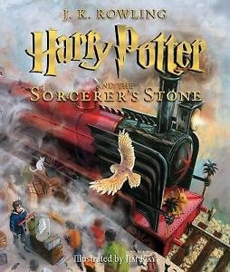 Toy Store - Harry Potter and the Sorcerer's Stone NEW Illustrated Edition by J K Rowling - New Arrival