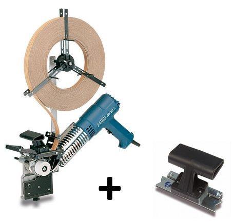 Virutex Aplacadora de cantos pre-encolados AG98E + Rascador Perfilador RP28
