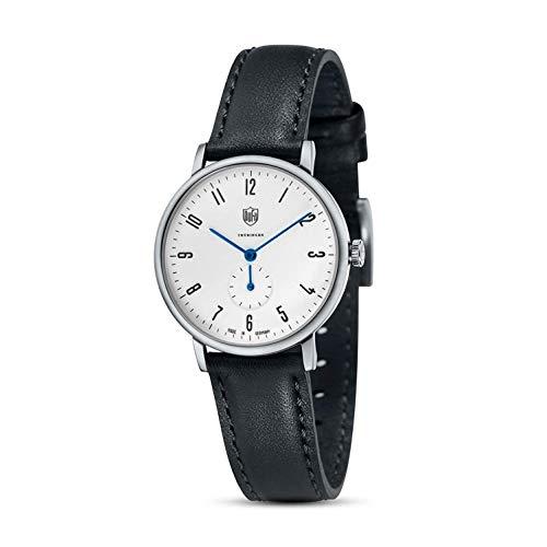 DuFa Damen Analog Quarz Smart Watch Armbanduhr mit Leder Armband DF-7001-03