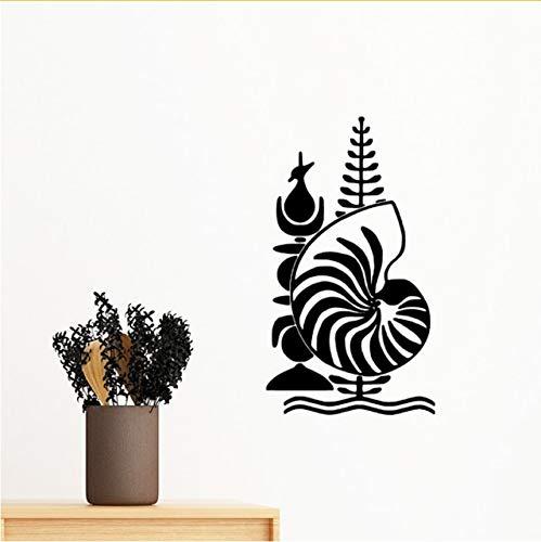 Kyzaa New Calédonie National Embleem afneembaar muursticker kunst DIY papier schilderij voor slaapkamer decoratie