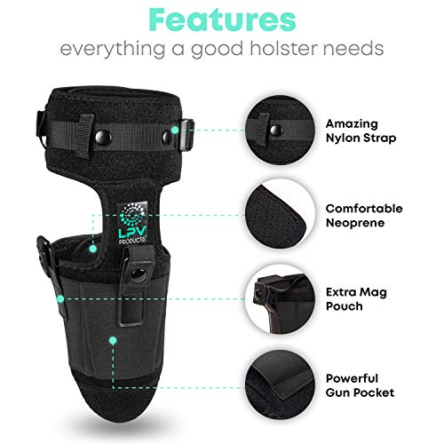 3. LPV Products - Ankle Holster For Concealed Carry, Conceal Holster