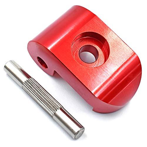 myBESTscooter - Repuesto de pestaña de Cierre Reforzada para Rueda de dirección para los Modelos M365, 1S, Essential, Pro del Patinete eléctrico Xiaomi