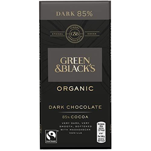 Green and Blacks Dark 85% Cocoa Bar 100g - Pack of 6