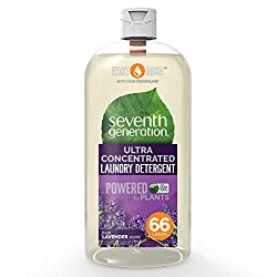 Seventh Generation's Natural 2x Concentrated Laundry Liquid