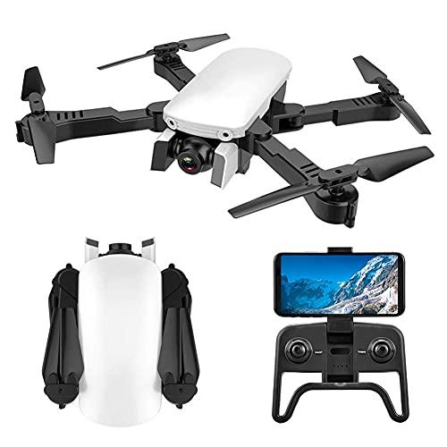 Drone GPS per Adulti con videocamera 4K 5G FPV Live Video per Principianti, Quadricottero RC Pieghevole con Ritorno Automatico a casa, Follow Me, Doppia Fotocamera, Include Custodia per Il Trasporto