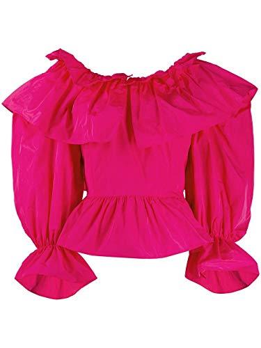 Luxury Fashion | Msgm Dames 2842MDM12220716514 Fuchsia Polyester Blouses | Lente-zomer 20