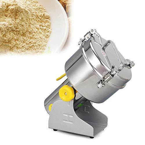 Elektrische Getreidemühle, Edelstahlklingen Mühle Pulver Mahlmaschine, für Müslibohnen