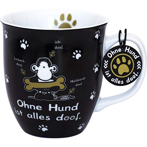 sheepworld Die Geschenkewelt 45704 Tasse en porcelaine avec inscription en allemand \