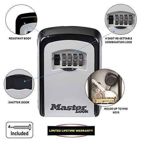 MASTER LOCK Boite à clés sécurisée 5401EURD 4