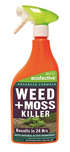 Ecofective Path & Patio Weed & Moss Killer 1L Ready to Us