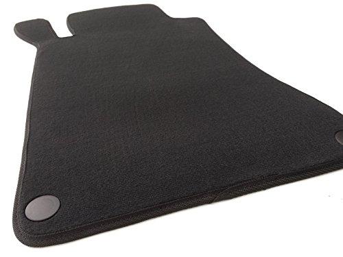Fußmatte W203 S203 Velours Automatte Original Qualität Fahrerseite Fahrermatte schwarz inkl. Befestigung