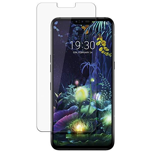 disGuard Schutzfolie für LG V50 ThinQ 5G [2 Stück] Kristall-Klar, Bildschirmschutzfolie, Glasfolie, Panzerglas-Folie, Bildschirmschutz, extrem Kratzfest, Schutz vor Kratzer, transparent