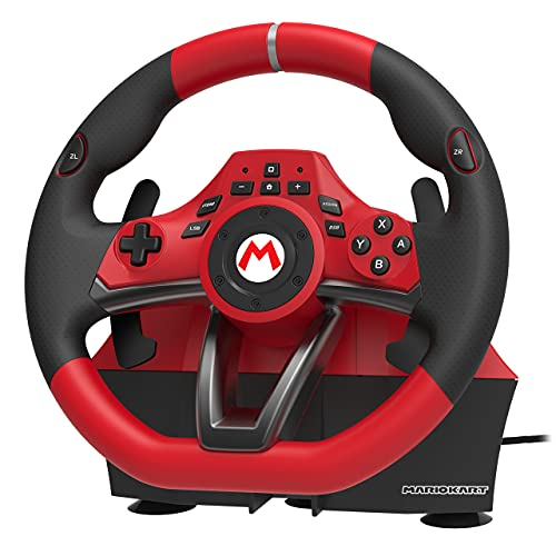 Hori Volante Mario Kart Racing Wheel Pro Deluxe - Ufficiale Nintendo - Nintendo Switch