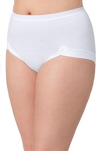 Ulla Popken Große Größen Damen Taillenslip Büroslip Weiß (Weiss 20), 54 (Herstellergröße: 54+)