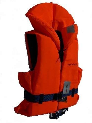 Segelladen Rettungsweste für Körpergewicht 10-20 kg mit Beleuchtung